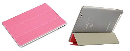 OUYAWEI Top for Teclast X98 Plus Ⅱ 9.7inch Solid Color for Ultra-Thin Leather Protective Case with Bracket Pink for Teclast X98 Plus Ⅱ 9.7inch