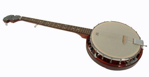 Cherrystone Banjo (5-saitig) Mahagoni mit Remo Fell
