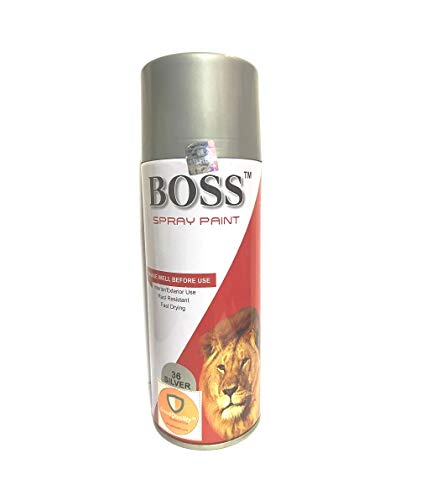 GoodQuality-The Name of Trust F1 Multipurpose Aerosol Spray Paint (Silver)