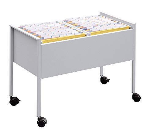 Durable 308223 Eco Hängemappenwagen 100 Duo, silber