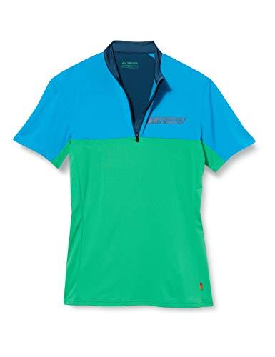 VAUDE Men's Scopi Qzip T-Shirt T-Shirt, Hombre, Apple Green, L