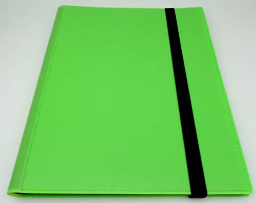 docsmagic.de Pro-Player 9-Pocket Album Light Green - 360 Card Binder - MTG - PKM - YGO - Álbum para Tarjetas Verde Claro