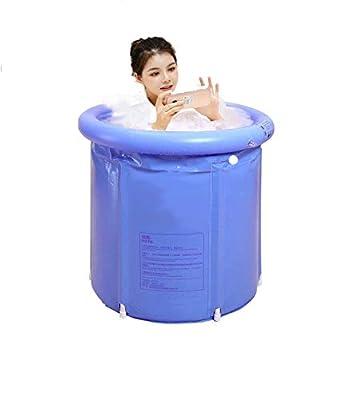 Novinex plastic inflatable japanese soaking tub portable for adults, kids, newborns baby   foldable bathub outdoor, indoor hot tube SPA home   shower stall bath bag   free standing tub