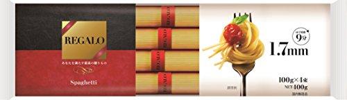 日本製粉 レガーロ スパゲッティ 1.7mm 結束 400g