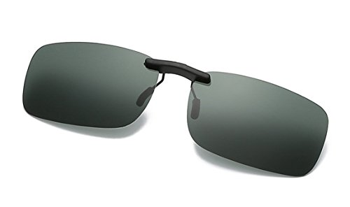 Flydo Lentes de gafas de sol polarizadas para anteojos recetados-Buenas gafas de sol estilo clip para gafas de miopía al aire libre/conducción/pesca/accesorio gafas UV400