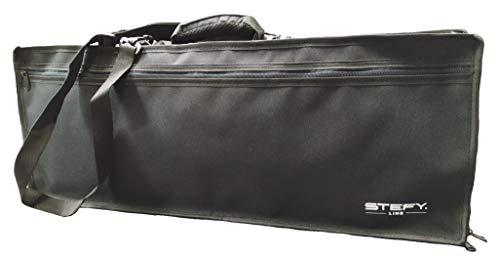 KB-68 - Borsa per tastiera con tracolla e tasca, 68 x 26 x 9 adatta per casio sa-76, sa-77, medeli mc37a e altre di simili dimensioni