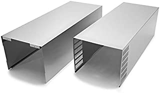 Zephyr Z1C-00AN Duct Cover Extension for Anzio Series Range Hoods, N/A