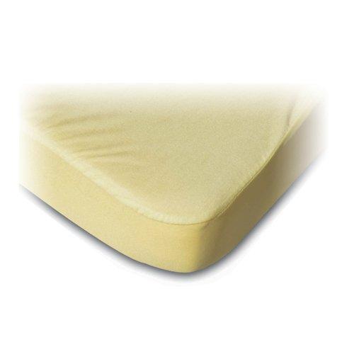 BSensible Drap Housse de Protection en Tissu 105 x 190 cm Ecru
