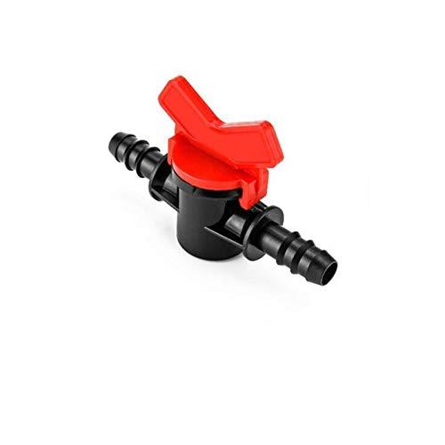 Allamp 7 mm 9 mm 10 mm 11 mm 12 mm 13 mm 14 mm 16 mm 20 mm 25 mm 1/2'3/4' BSP roscado jardín Acuario Conector de Bola de plástico Exterior válvulas (Specification : NO1)