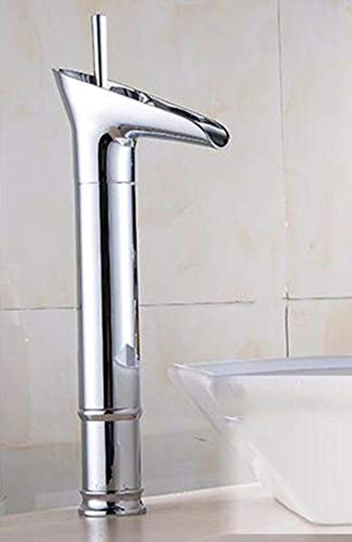 QINCH Home Kitchen Bath Fixture Wasserhahn Kitchen Bathroomcopper Erhhter Wasserfall