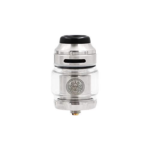 Geekvape Zeus X RTA 4.5ml Tank Capacity 810 Delrin Drip Tip Electronic cigarette Atomizer Nicotine Free Silver