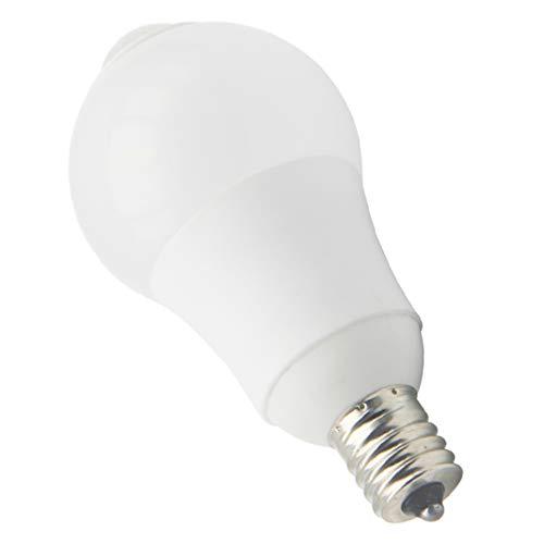 E17 LED センサー 電球 5w消費電力 60w相当 400Lm 人感センサー 赤外線センサー センサーライト 自動点灯 自動消灯 高輝度 高演色性 昼白色5800k 1個入り