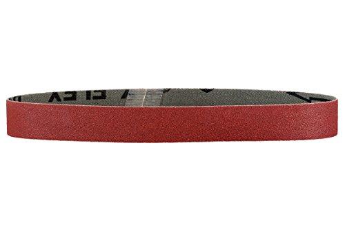 Metabo Schleifbänder (3 Stück, Körnung P 120, Abmessung 50x1020 mm, für Metall, Gusseisen, Kunststoffe usw.) 629066000