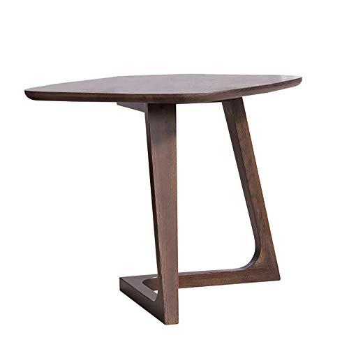 Tables FEI - Bureau d'ordinateur d'appoint Basse en Bois Massif Salon d'appoint de canapé pour Tous Les postes de Travail