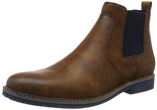 TOM TAILOR Herren 7981105 Klassische Stiefel, Braun (Cognac 00205), 42 EU