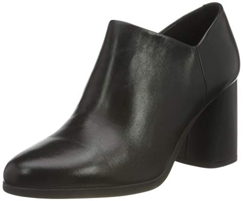 Geox Damen D Calinda High C Ankle Boot, Schwarz, 38 EU