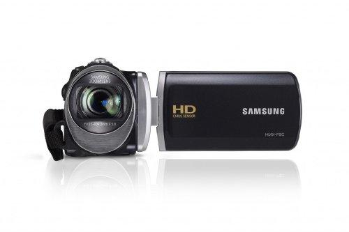 Samsung HMX-F90 HD-Camcorder (52-fach opt. Zoom, 6,9 cm (2,7 Zoll) LCD-Display, HD-Ready) schwarz
