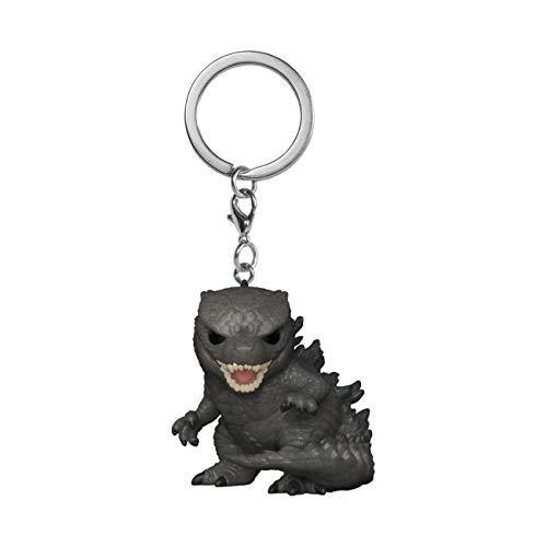 Funko Pop! Keychain: Godzilla Vs Kong - Godzilla Multicolor, 3 inches