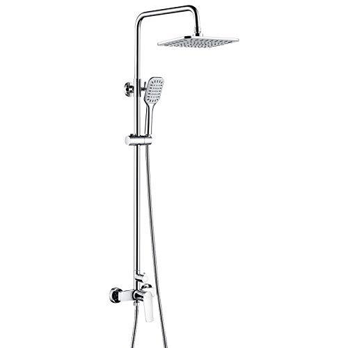 Auralum Columna de ducha con grifo Monomando, Set...