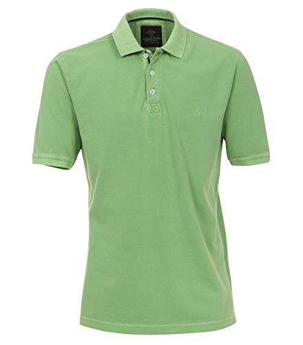 CASAMODA Herren Polo-Shirt Uni Grün L