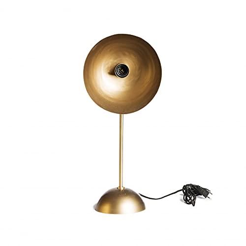 Simla Lampe de Table dorée 24x22x58cm