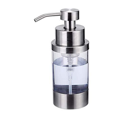 Carkio - Dispensador de botellas para cocina y baño, gel de ducha, jabón desinfectante de manos, 350 ml