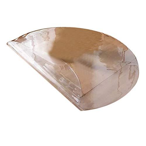 GFSD Alfombra de Oficina Impermeable, Resistente Al Desgaste, Cojín La Silla, Mantel Individual, Protector Piso, Personalizable (Color : 1.5MM, Size : Diameter-80CM)