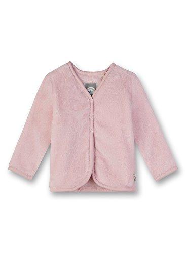 Sanetta Baby-Mädchen Sweatjacket Sweatjacke, Rosa (Vintage Rose 3897.0), 86