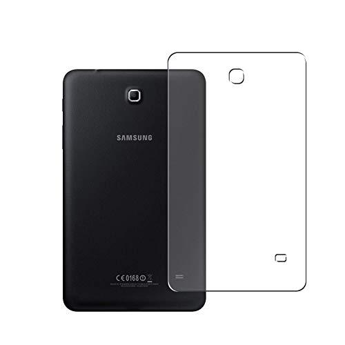 Vaxson 2 Unidades Protector de pantalla Posterior, compatible con Samsung Galaxy Tab 4 8.0 3G SM-T331 T330 T335 [No Vidrio Templado] TPU Película Protectora Espalda Skin Cover