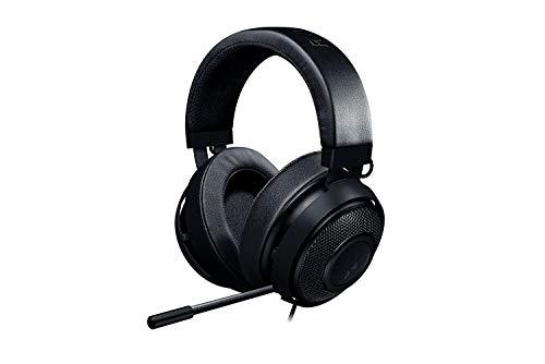 Razer Kraken Pro V2 Binaural Diadema Negro - Auriculares con micrófono (Consola de Videojuegos + PC/Videojuegos, 55 dB, Binaural, Diadema, Negro, Giratorio)