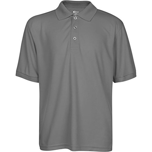Premium High Moisture Wicking Polo T Shirts Grey M