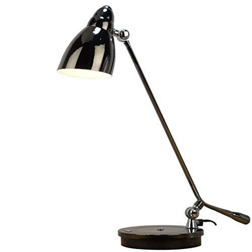 Lámpara Escritorio LED Lámpara de escritorio LED Arquitecto Brazo oscilante de metal Trabajo Tarea Redacción Lectura Hogar...