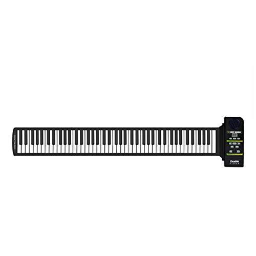 zhouweiwei Multi Style Portable 88 Teclas de Silicona Flexible Roll Up Piano...