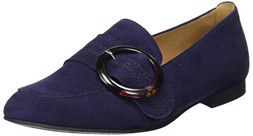 Gabor Shoes Damen Casual\' Slipper, Blau (Bluette (Schwarz) 36), 40.5 EU