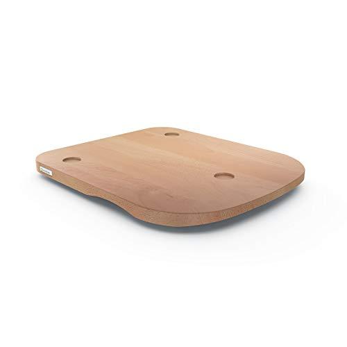 ThermoSlider H V2 Gleitbrett aus Holz Buche für Thermomix TM6 & TM5 - Massivholz aus nachhaltiger deutscher Forstwirtschaft