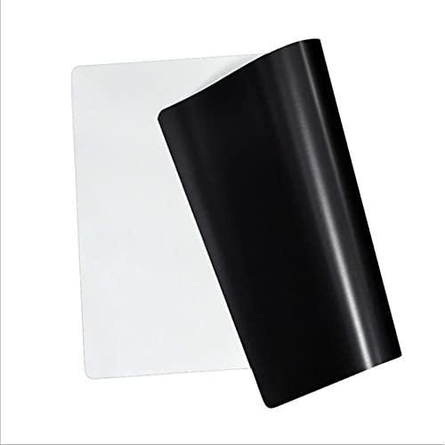 ALUNVA Pegatinas de Pizarra Pizarra magnética Imán Imán Etiquetas engomadas de borrado en seco Escribir Enseñanza Práctica Pizarra Dibujo Tablero de Pared 21 * 15 cm Pizarron (Color : White)