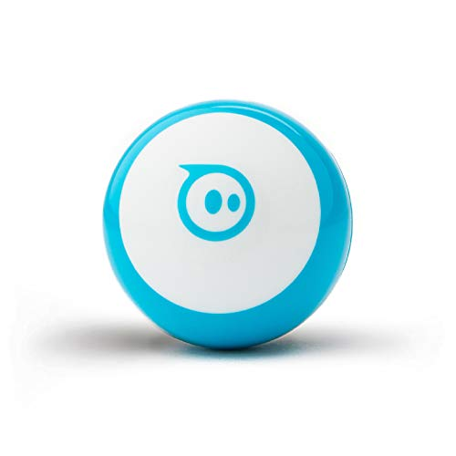 Sphero Mini (Blue) App-Enabled Programmable Robot Ball - STEM Educational Toy for Kids Ages 8 & Up - Drive, Game & Code with Sphero Play & Edu App, 1.57'