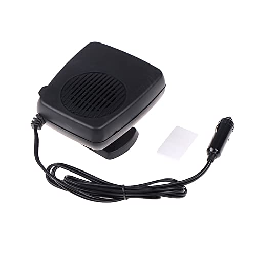 linger 200W 12V 13x10cm Calentador de Vidrio Mini Ajuste para el Coche eléctrico Ventilador calentado Windows Defreter Defroter Dashog Tablero de Panel de enfriamiento Ventilador