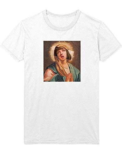 HYPSHRT Herren T-Shirt Ave Mia Wallace C178242 Weiß L