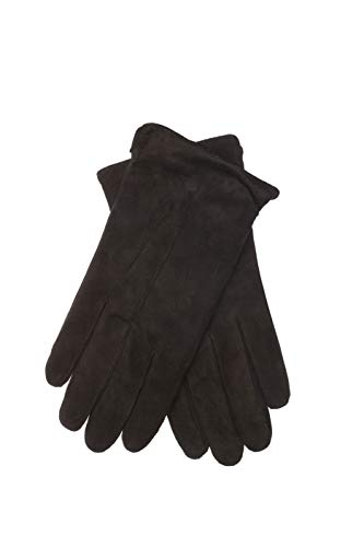 EEM Herren Leder Handschuhe BENNY aus Wildleder, klassich; schwarz, XL