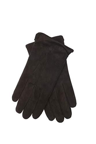 EEM Herren Leder Handschuhe BENNY aus Wildleder, klassich; schwarz, M