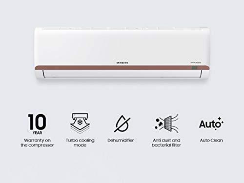 Samsung 1.5 Ton 3 Star Inverter Split AC (Copper, AR18TY3QBBR, White)