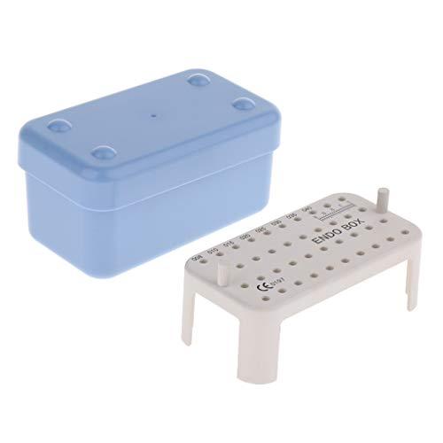 H HILABEE Endo Box Desinfektionsinstrument Behälter Autoklav Blau