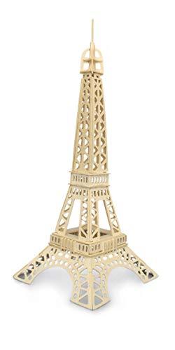 Quay P030 Eiffel Tower Woodcraft Construction Kit FSC Bausatz, braun
