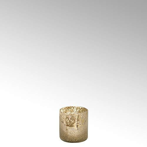 Lambert Paolo Teelicht Caramel-rosé-Gold H 10 D 10 cm 16363