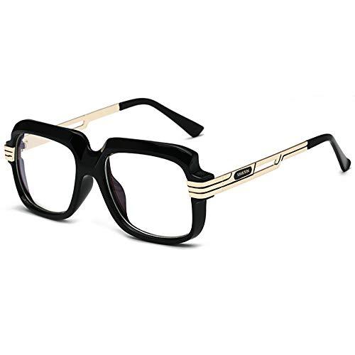 SHEEN KELLY Große luxus Retro Sonnenbrille Herren Quadrat Designer Vintage Sonnenbrille Pilot Fahren 100% UV400 Transparente