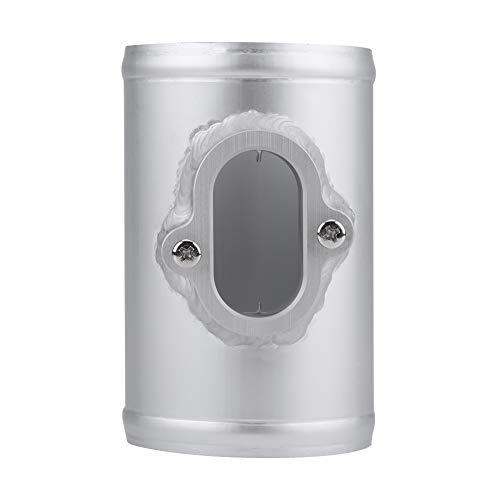 Base del medidor de flujo de aire, sensor de aire Montaje del sensor MAF Adaptador del sensor de flujo de…