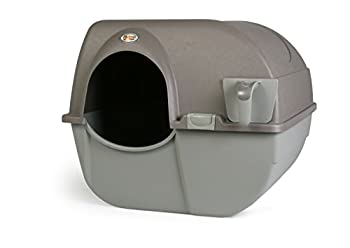 Omega Paw Roll  n Clean Self Cleaning Litter Box Brown Large