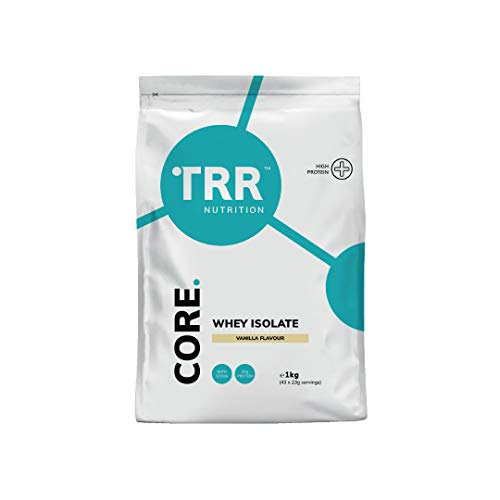 TRR Core Whey Isolate - Protein Powder for High-Intensity Training with Whey Protein Isolate (Vanilla, 1 kg)