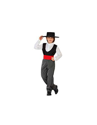 DISBACANAL Disfraz de cordobs Infantil - -, 7-9 aos